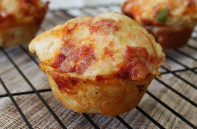 Pizza muffini gotovi za 30 minuta